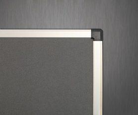 Ścianka parawanowa stacjonarna (szara) 100x120 cm