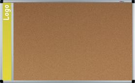 Tablica na logo korkowa w ramie aluminiowej B1 100x150 cm