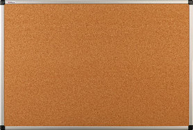 Tablica korkowa w ramie aluminiowej B1 100×170 cm