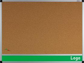 Tablica na logo korkowa w ramie aluminiowej B1 100x170 cm