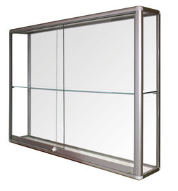 Witryna wisząca drzwi przesuwane wys. 80x szer. 100x gr. 25