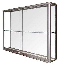 Witryna wisząca drzwi przesuwane wys. 80 x szer.120 x gr. 25