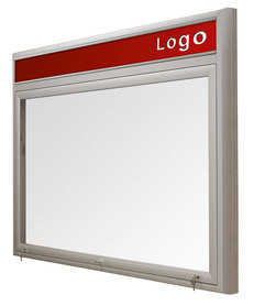 Gablota Ibiza magnetyczna z logo wewnętrzna 99x104