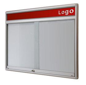Gablota Dallas  Magnetyczna-drzwi przesuwane z logo 91x77 (6xA4)