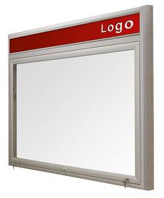 Gablota Ibiza zewnętrzna magnetyczna z logo 99x144