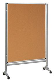 Mobilna ścianka  korkowa 120x120 cm