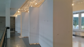 Ścianka Muzealna 100x250x5cm