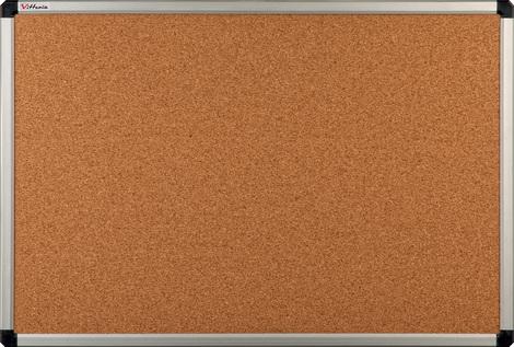 Tablica korkowa w ramie aluminiowej B2 90×120 cm (1)