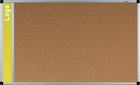 Tablica na logo korkowa w ramie aluminiowej B1 120x180 cm (1)