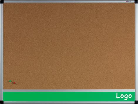 Tablica na logo korkowa w ramie aluminiowej B1 100x200 cm (1)