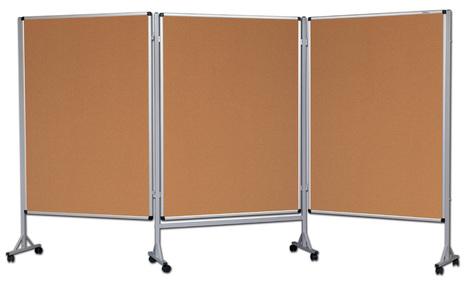 Mobilny tryptyk parawanowy-korkowy 120x160 cm (3 ścianki) (1)