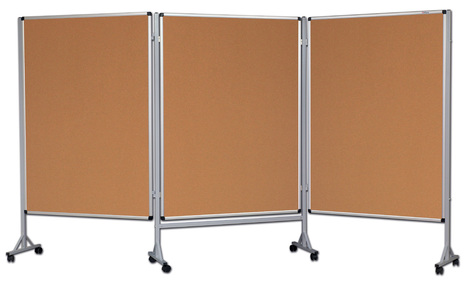 Mobilny tryptyk parawanowy-korkowy 120x180 cm (3 ścianki) (1)