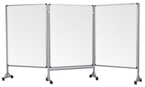 Mobilny tryptyk parawanowy-suchościeralny, magnetyczny 120x160 cm ( 3 ścianki) (1)