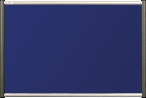 Tablica tekstylna (niebieski-unijny) Rama Vito 90×120 cm (1)