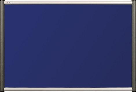 Tablica tekstylna (niebieski-unijny) Rama Vito 60×90 cm (1)