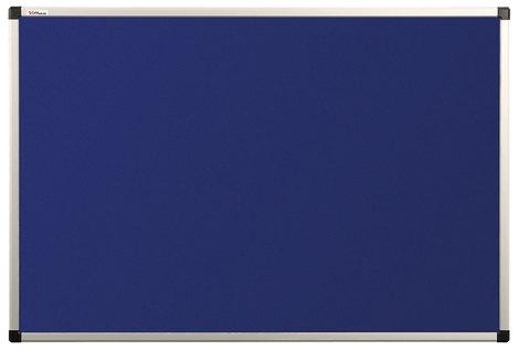 Tablica tekstylna (niebieski-unijny) rama aluminiowa model B2 90×120 cm (1)
