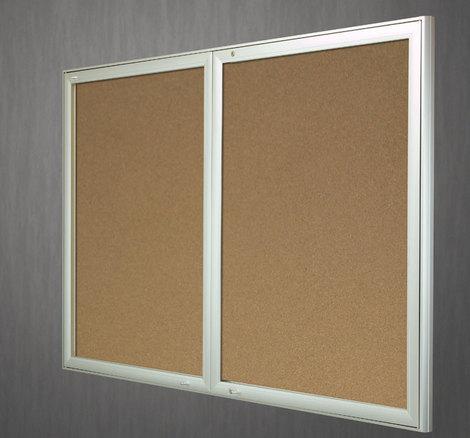 Gablota Aspen korkowa 103x238 ( 30xA4 drzwi podwójne)  (1)