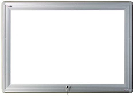 Gablota zewnętrzna Oxford magnetyczna 107x242 (30xA4) 2-drzwiowa (1)