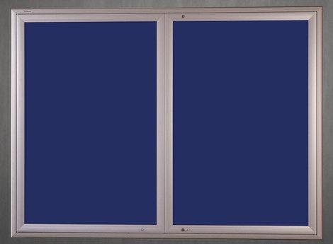 Gablota Ibiza tekstylna 107x198  (24xA4) 2-drzwiowa (1)