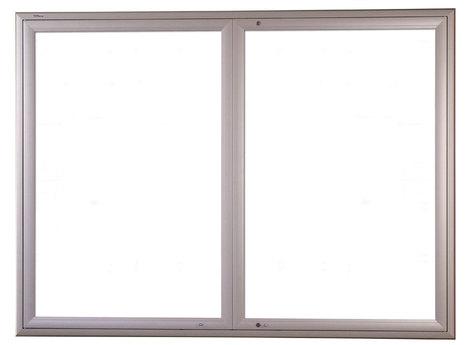 Gablota Ibiza zewnętrzna magnetyczna 107x198 (24xA4) 2-drzwiowa (1)