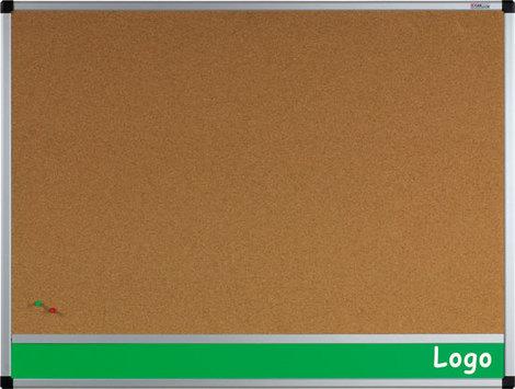 Tablica na logo korkowa w ramie aluminiowej B1 100x170 cm (1)
