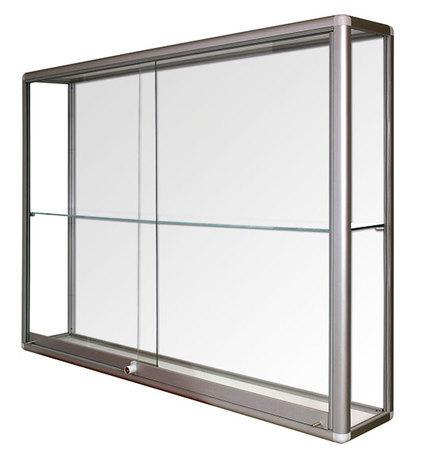 Witryna wisząca drzwi przesuwane wys. 80x szer. 100x gr. 25 (1)