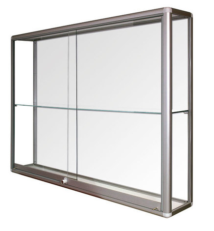 Witryna wisząca drzwi przesuwane wys. 80 x szer.140 x gr.25 (1)