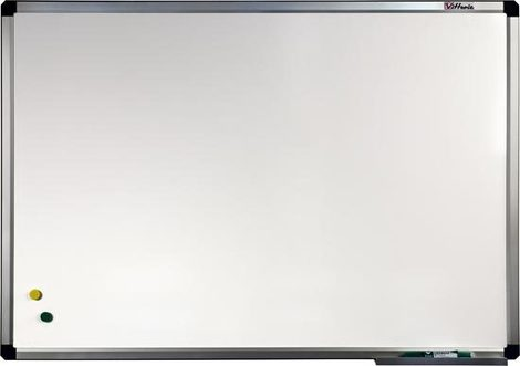 Tablica biała ceramiczna w ramie aluminiowej B2 90x120 cm (1)
