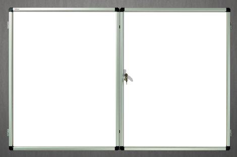 Gablota wewnętrzna Lisbona -L2 magnetyczna 98x159 cm (21xA4) dwudrzwiowa (1)