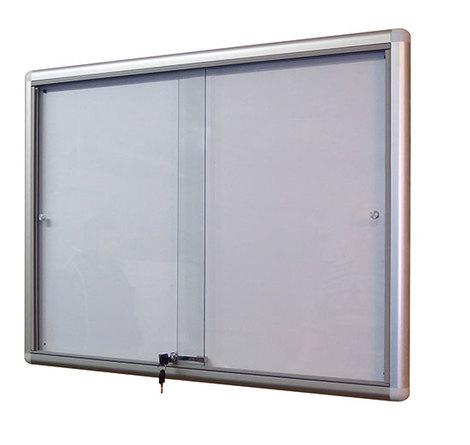 Gablota Dallas eco Magnetyczna-drzwi przesuwane 104x98 (12xA4) (1)