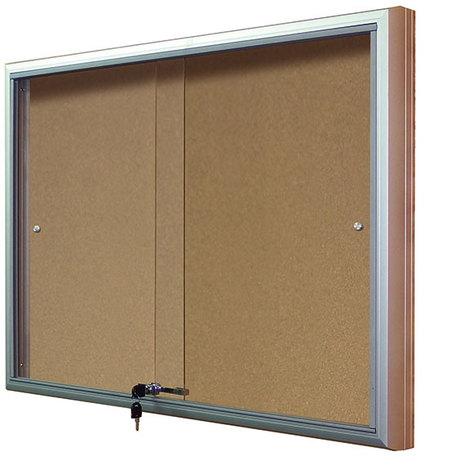 Gablota Casablanka eco korkowa-drzwi przesuwane 104x142 (18xA4) (1)
