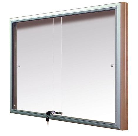 Gablota Casablanka eco Magnetyczna-drzwi przesuwane 74x98 (8xA4) (1)