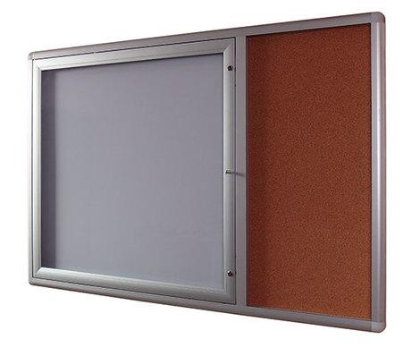 Gablota Oxford z panelem bocznym korkowym 107x159 (1)