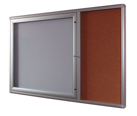 Gablota Oxford z panelem bocznym korkowym 84x139 (1)
