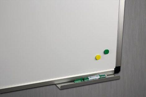Tablica biała ceramiczna w ramie aluminiowej B2 120x300 cm (1)