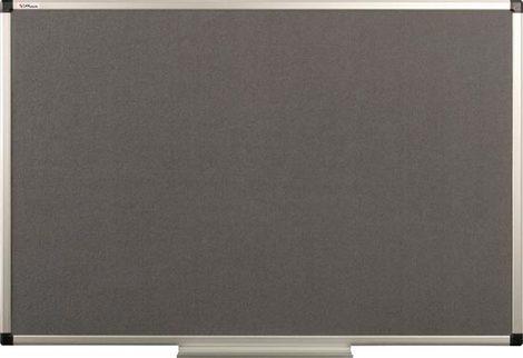 Tablica tekstylna (szara) rama aluminiowa model B2 100x200 cm (1)