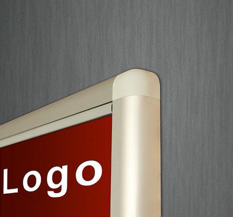 Gablota zewnętrzna Oxford magnetyczna z logo 122x242 (30xA4) dwudrzwiowa (1)