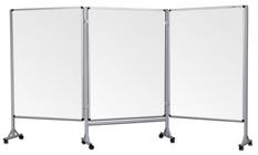 Mobilny tryptyk parawanowy-suchościeralny, magnetyczny 120x160 cm ( 3 ścianki)