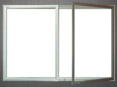 Gablota Aspen magnetyczna 103X194 (24xA4) (2-drzwiowa)