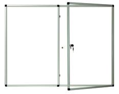 Gablota wewnętrzna Lisbona -L1 magnetyczna 90x120  2- drzwiowa