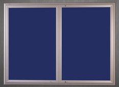 Gablota Ibiza tekstylna 107x242 (30xA4) 2-drzwiowa