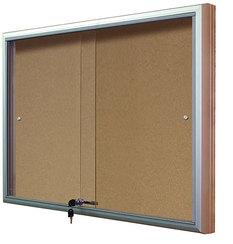 Gablota Casablanka eco korkowa-drzwi przesuwane 104x186 (24xA4)