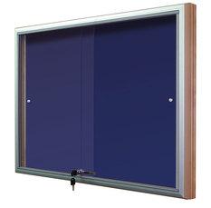 Gablota Casablanka eco tekstylna-drzwi przesuwane 74x98 (8xA4)