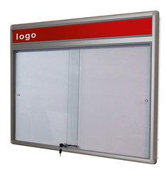 Gablota Dallas eco Magnetyczna-drzwi przesuwane z logo 119x142 (18xA4)