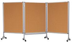 Mobilny tryptyk parawanowy-korkowy 100x120 cm (3 ścianki)